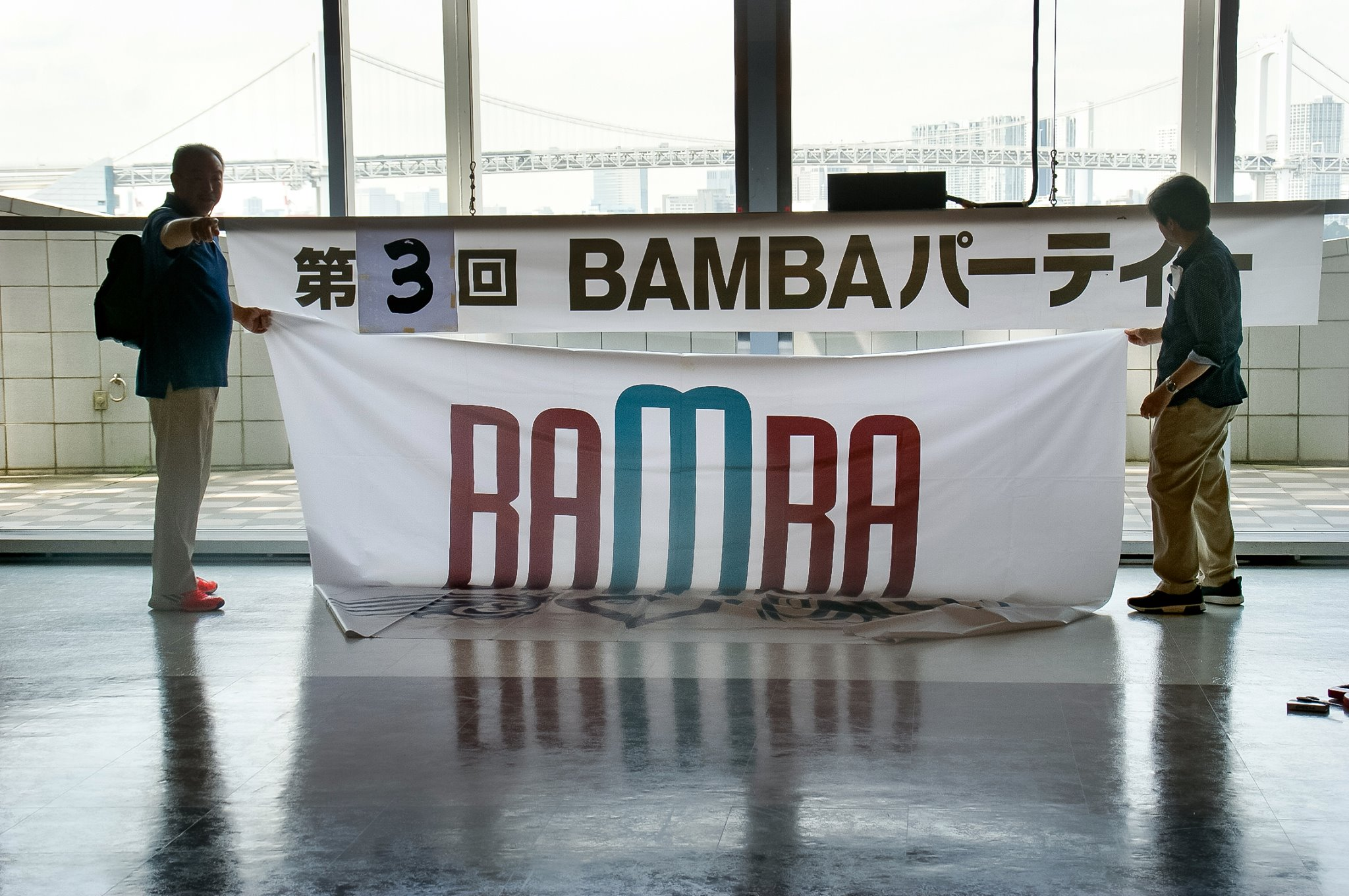 BAMBAフラッグ